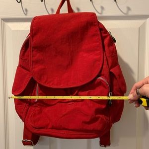 Kipling Red Backpack